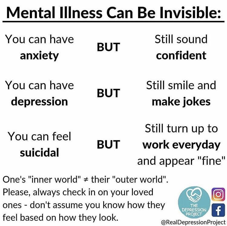 mental illness can be